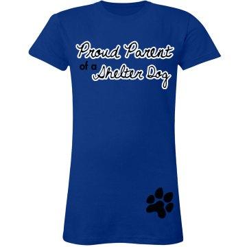 Proud Parent Shelter Dog