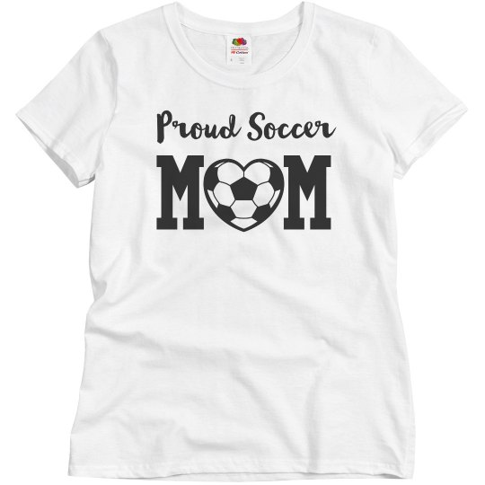 Proud Soccer Mom