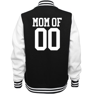 Proud Softball Mom Jackets With Custom Name Number