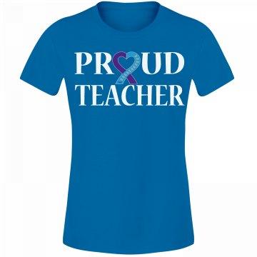 Proud Teacher_Turquoise