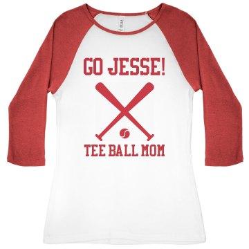 Proud Tee Ball Mom