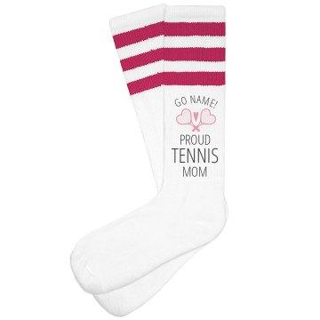 Proud Tennis Mom Custom Name