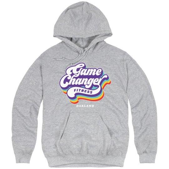 pullover hoodie 80s