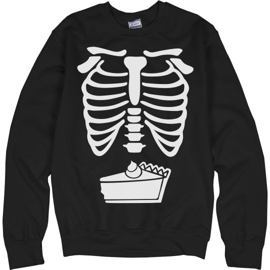 Pumpkin Pie Skeleton