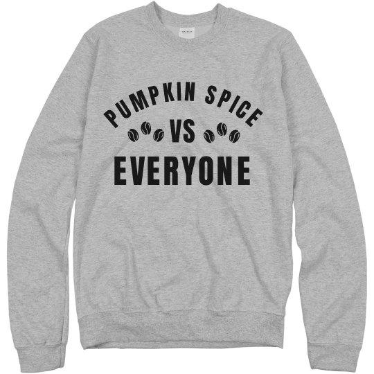 Pumpkin Spice VS Everybody