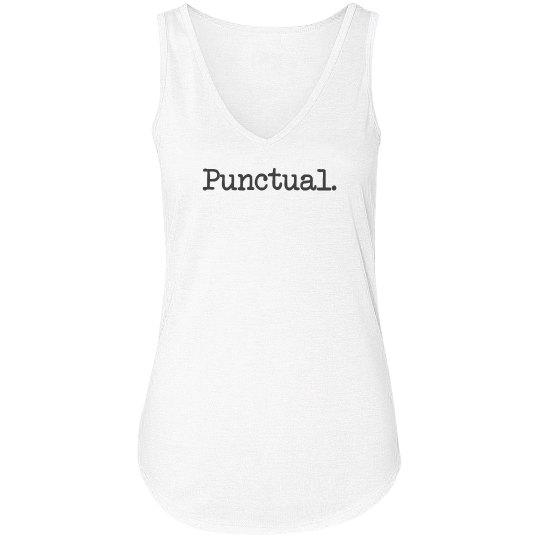 Punctual?