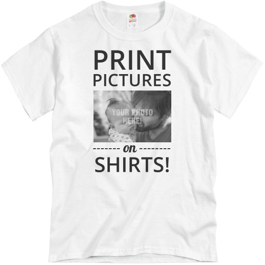 Put a Picture on a Shirt