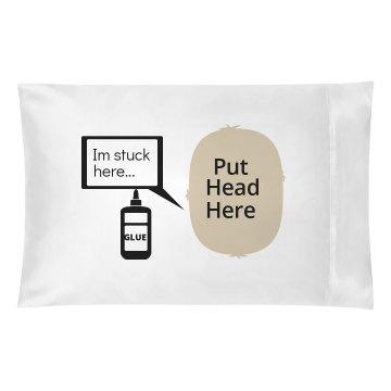 Put Head Here glue