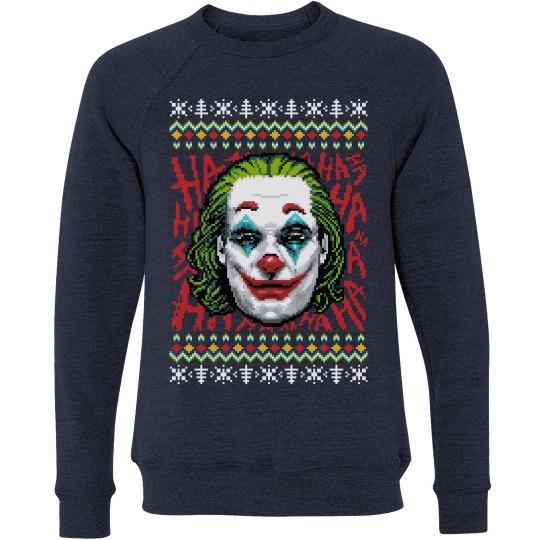 Put On A Happy Face Joker Christmas