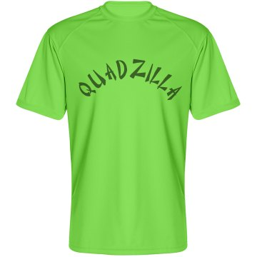 QUADZILLA Men's Performance Tee