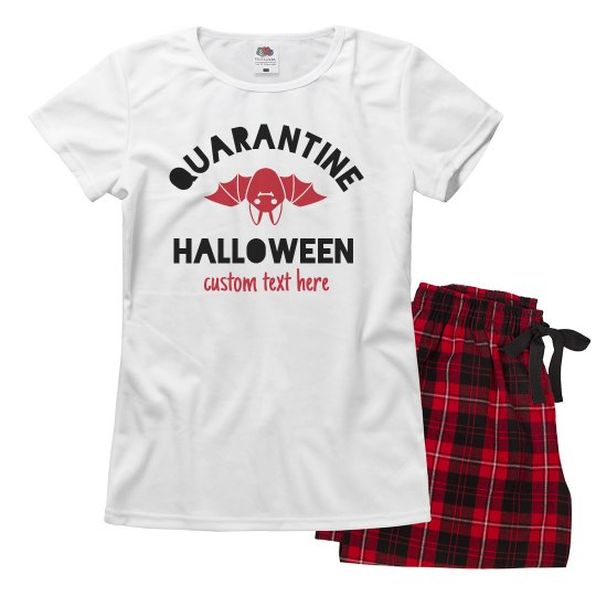 Quarantined Halloween Family Pajamas
