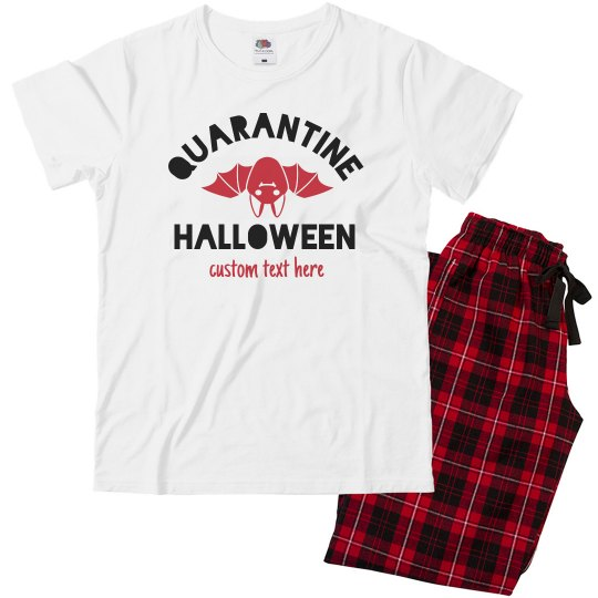 Quarantined Halloween Family Pajamas