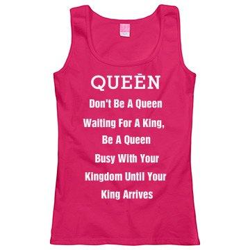 Queen Build Kingdom FIrst