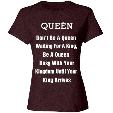 Queen Building her Future