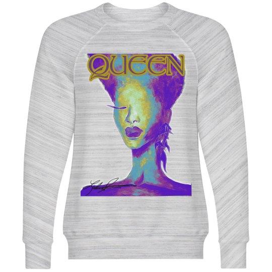 Queen Cotton Sweathirt