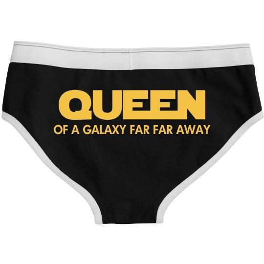 Queen Of A Galaxy Far Far Away