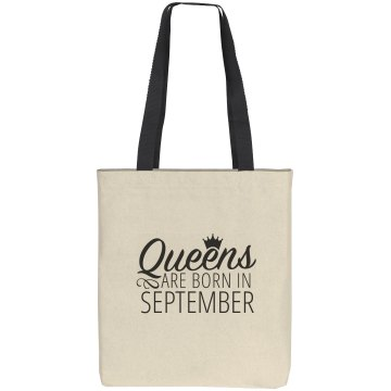 Queens Are Born In September Gift Bag