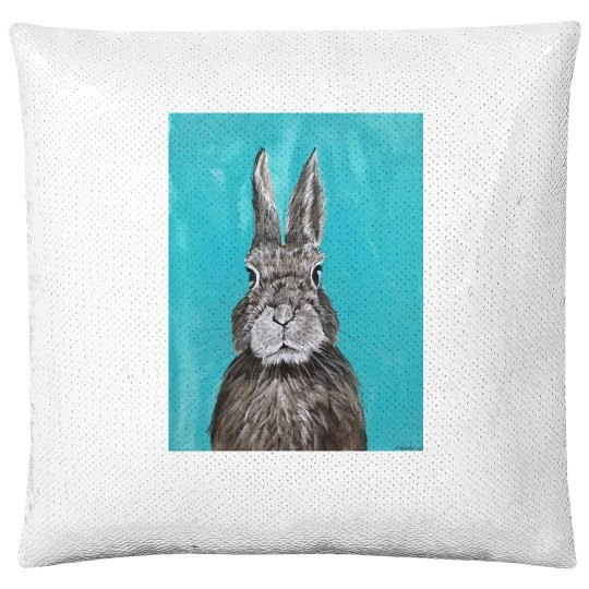 Rabbit (pillow case)