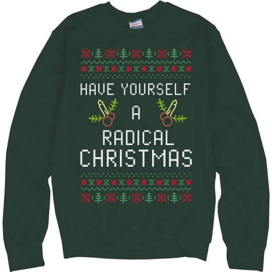 Radical Christmas Sweater