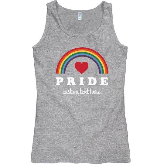 Rainbow Gay Pride Custom Tank