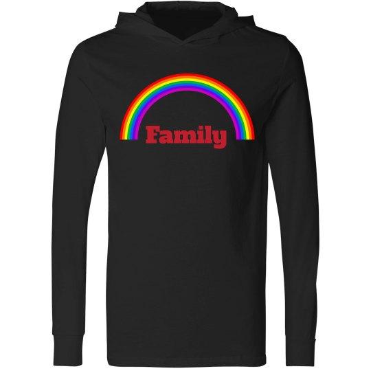 Rainbow pride - black