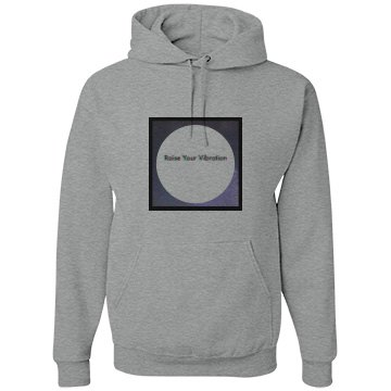 Raise your vibr. Galaxy hoodie