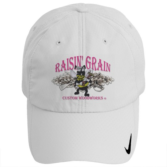 Raisin' Grain Nike Ball Cap - Pink