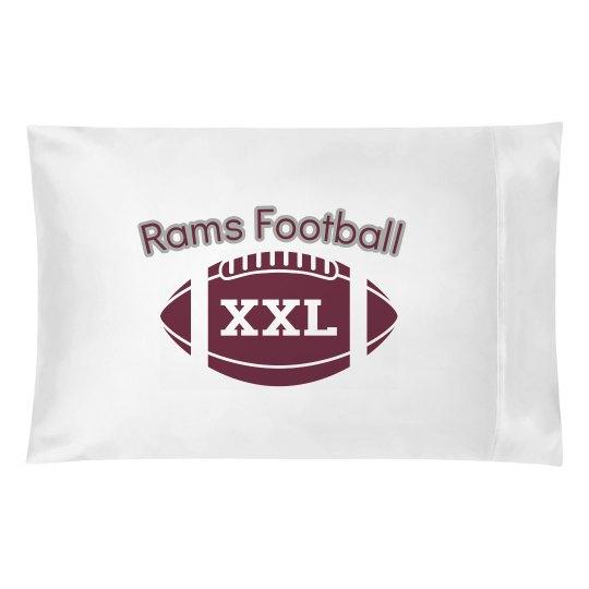 Rams pillowcase