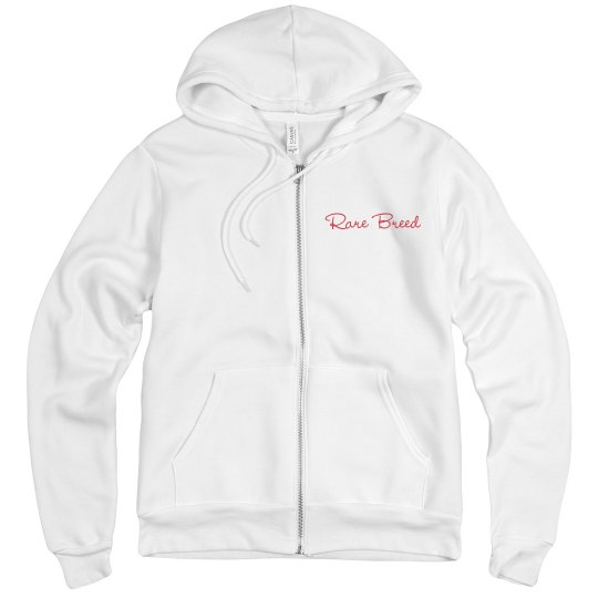 Rare breed men's zip up