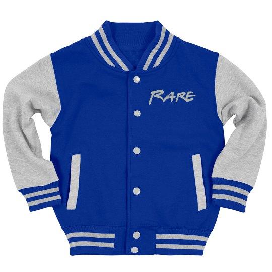"""""""RARE"""" Varsity Jacket"""