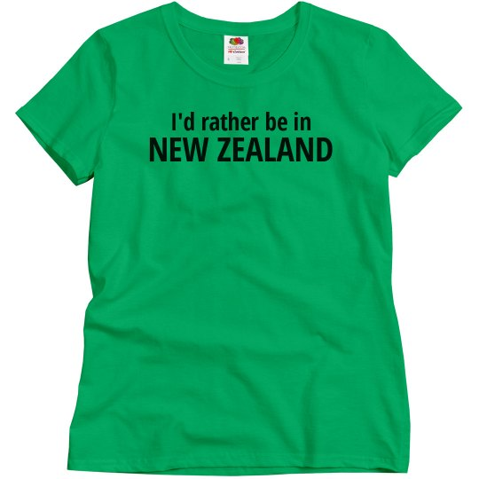 Rather be in New Zealand