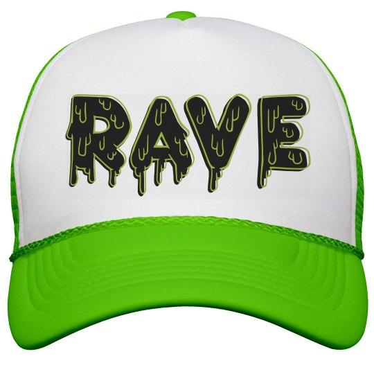 Rave Melt Neon Hat
