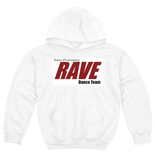 RAVE Youth Hooded Sweatshirt