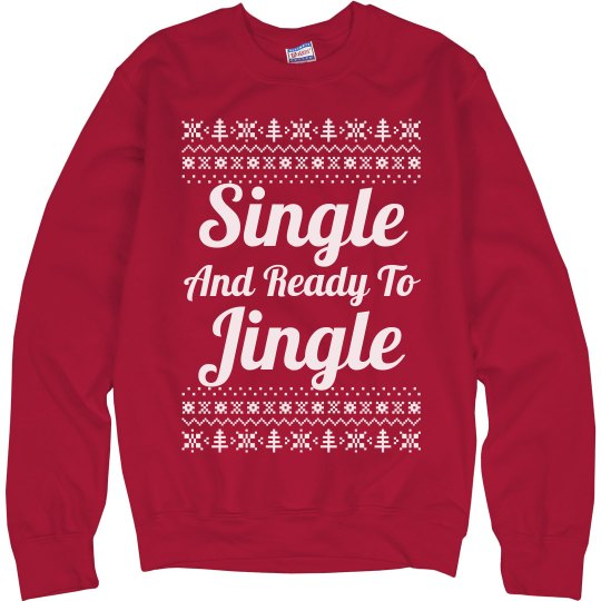 Ready To Jingle Ugly Sweater