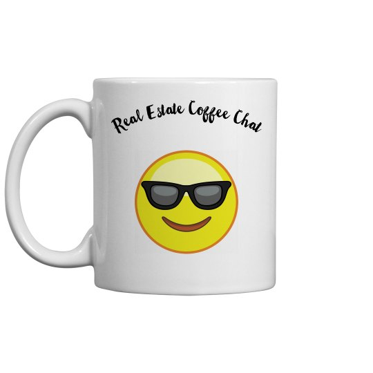 Real Estate Coffee Chat Mug