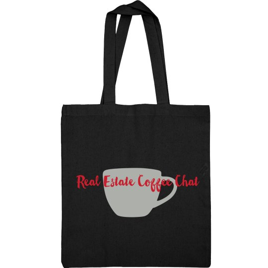 Real Estate Coffee Chat Tote
