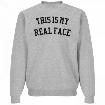 Real Face Sweater