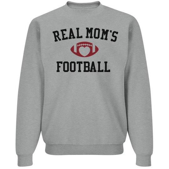 Real mom's love football