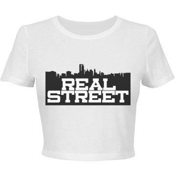 Real Street Bella Crop Tee