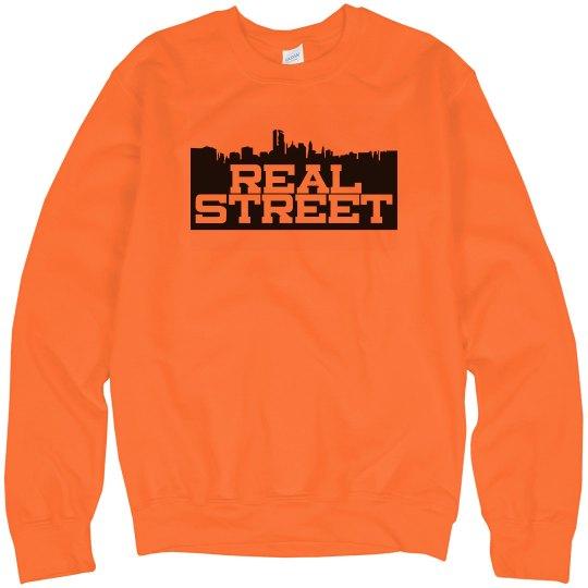 Real Street Neon Orange Sweatshirt