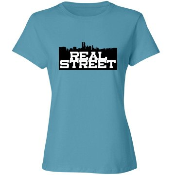 Real Street Relaxed Fit Misses Tee