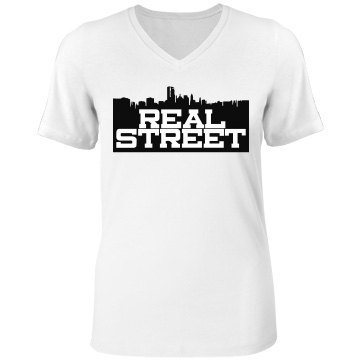Real Street Woman's V-Neck Tee
