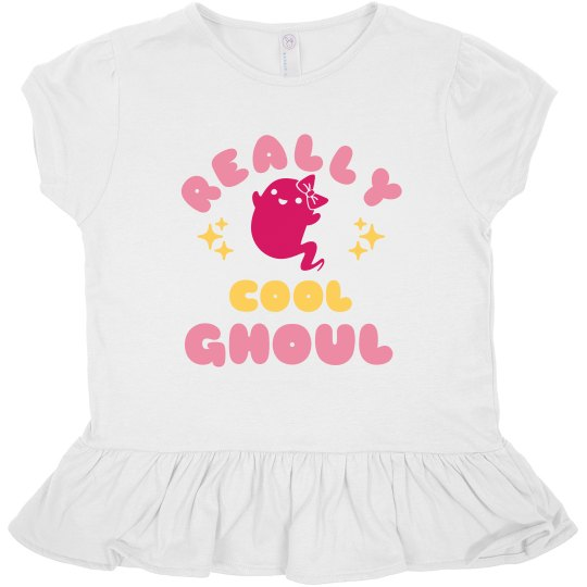 Really Cool Ghoul Toddler Tee