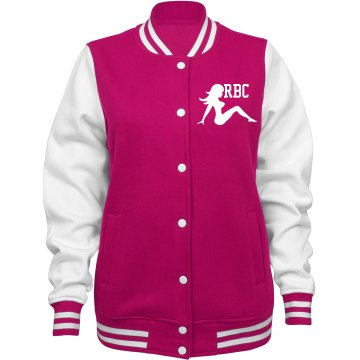 RED BONE VARSITY JACKET