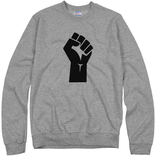 Red Bottoms - Black Excellence Sweat Shirt