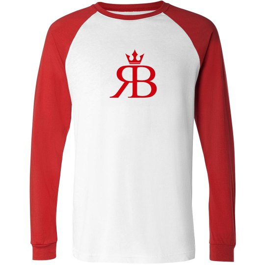 Red Bottoms Long Sleeved -Red/Red Logo