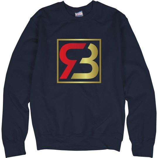 Red Bottoms Navy Sweatshirt