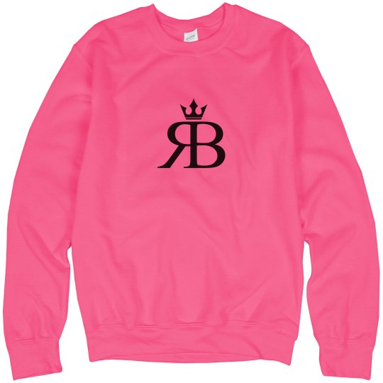 Red Bottoms Neon Pink Sweatshirt