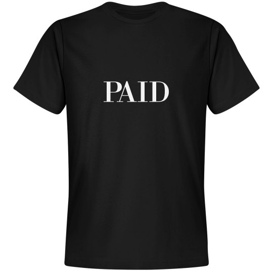 RED BOTTOMS PAID - TEE