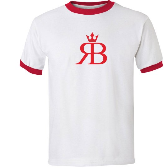Red Bottoms Tee-red/red logo